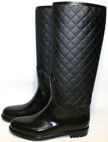 Резиновые сапоги женские Valex с молнией.