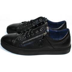 Молодежная обувь мужская Ікос 1528-1 Black