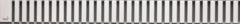 Накладная панель для душевого лотка 30 см Alcaplast LINE-300M фото