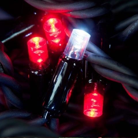 Гирлянда разноцветная нить светодиодная купить нити гирлянды