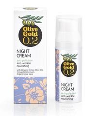 Ночной питательный крем от морщин Olive Gold 50 мл