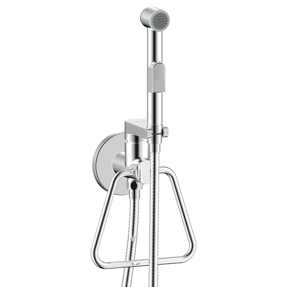 Смеситель с гигиеническим душем встраиваемый X25-55