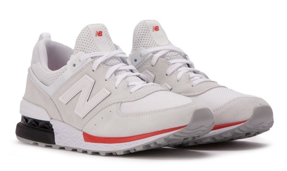 New Balance 574 Sport Lifestyle (Silver) (112)