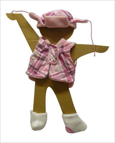 Зимний комплект - Демонстрационный образец. Одежда для кукол, пупсов и мягких игрушек.