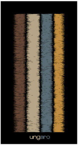 Полотенце 100х150 Emanuel Ungaro Wood коричневое