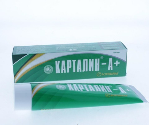Карталин А + крем 100 мл.