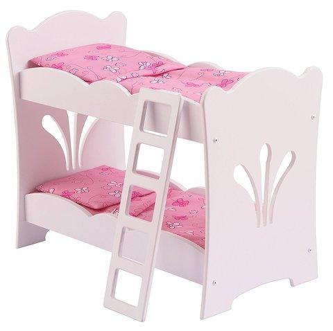 KidKraft двухъярусная кроватка-колыбель для куклы 60130_KE