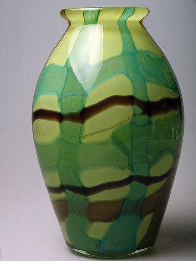 Ваза зеленая 1106-20