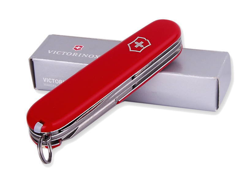 Складной нож Victorinox Hiker (1.4613) 91 мм., 13 функций, красный - Wenger-Victorinox.Ru