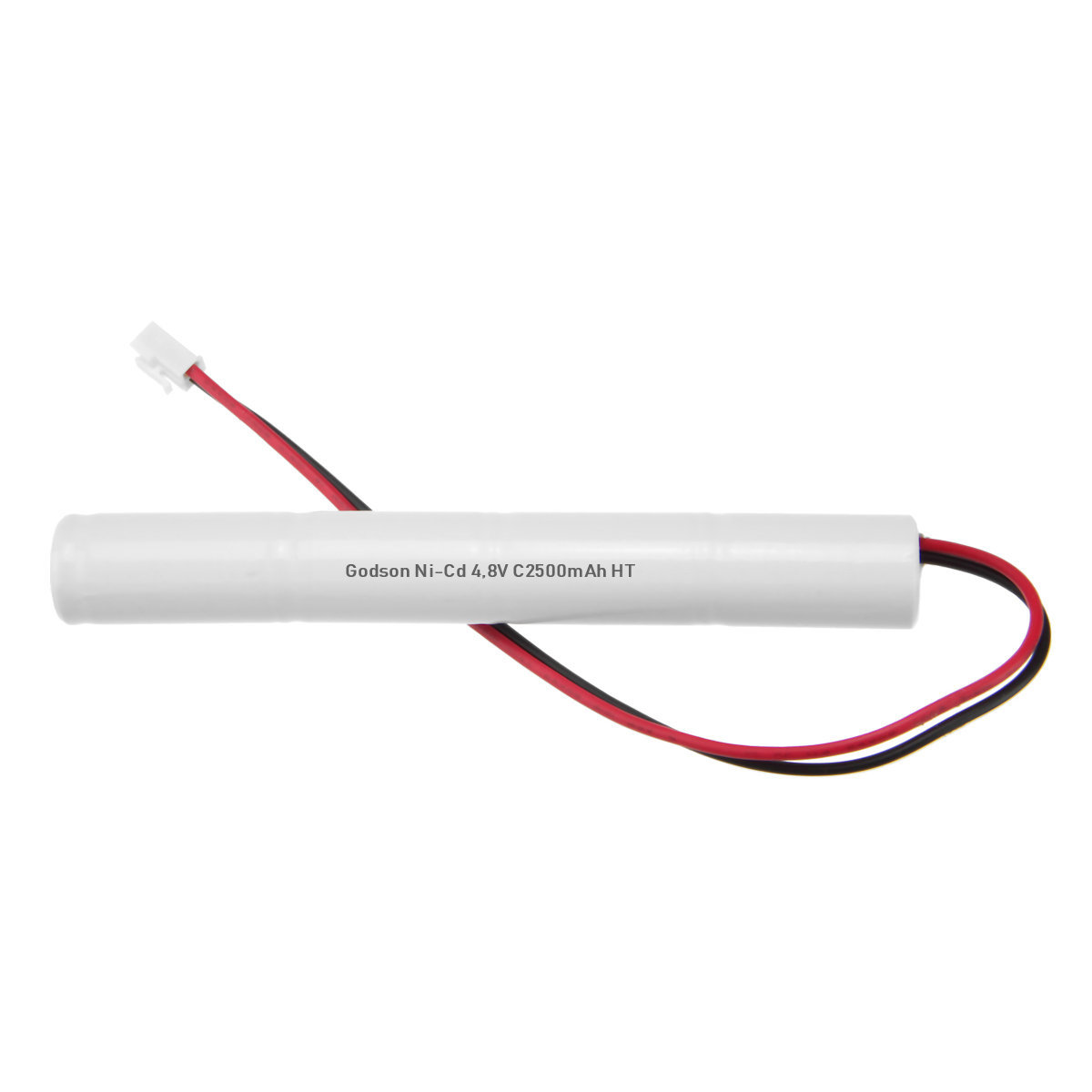 Внешний вид аккумуляторной батареи для аварийных светильников Ni-Cd 4.8V C 2500mAh HT Godson Technology