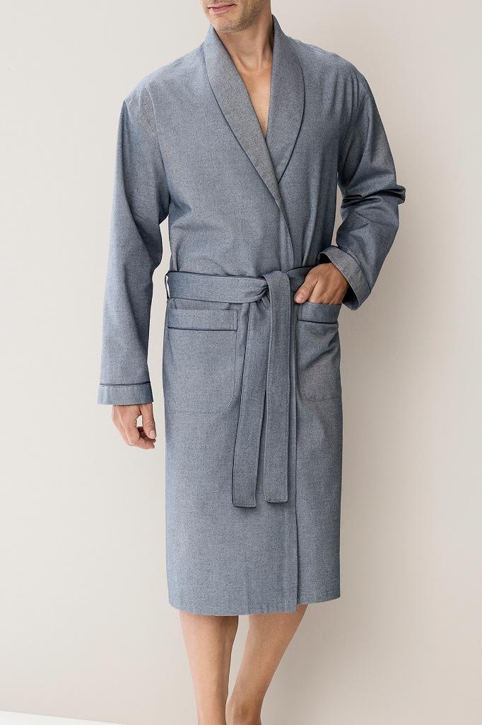 Фланелевый халат премиум класса Zimmerli