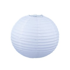 Подвесной фонарик стандарт 20 см белый