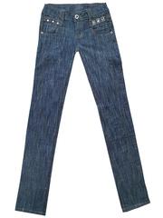 5589 джинсы женские, синие