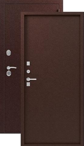 Дверь входная Легион T-3, 2 замка, 1,2 мм  металл, (медь+медь)