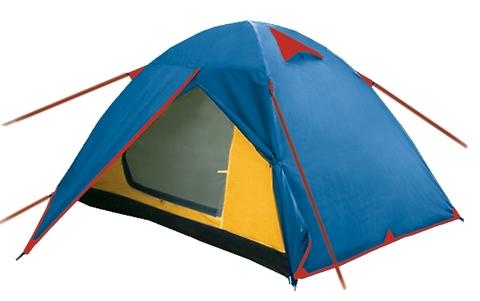 Палатка двухслойная BTrace Walk (синий)