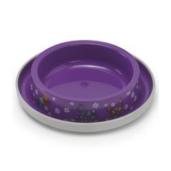 Moderna миска одинарная нескользящая Друзья навсегда с защитой от муравьев, фиолетовая 0,21л