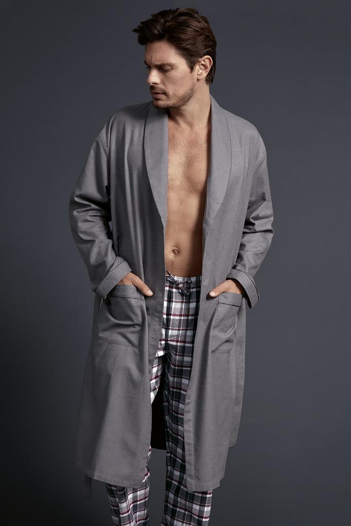 Мужской халат премиум класса Zimmerli