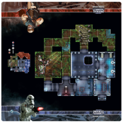 Star Wars Imperial Assault: Training Ground Playmat
