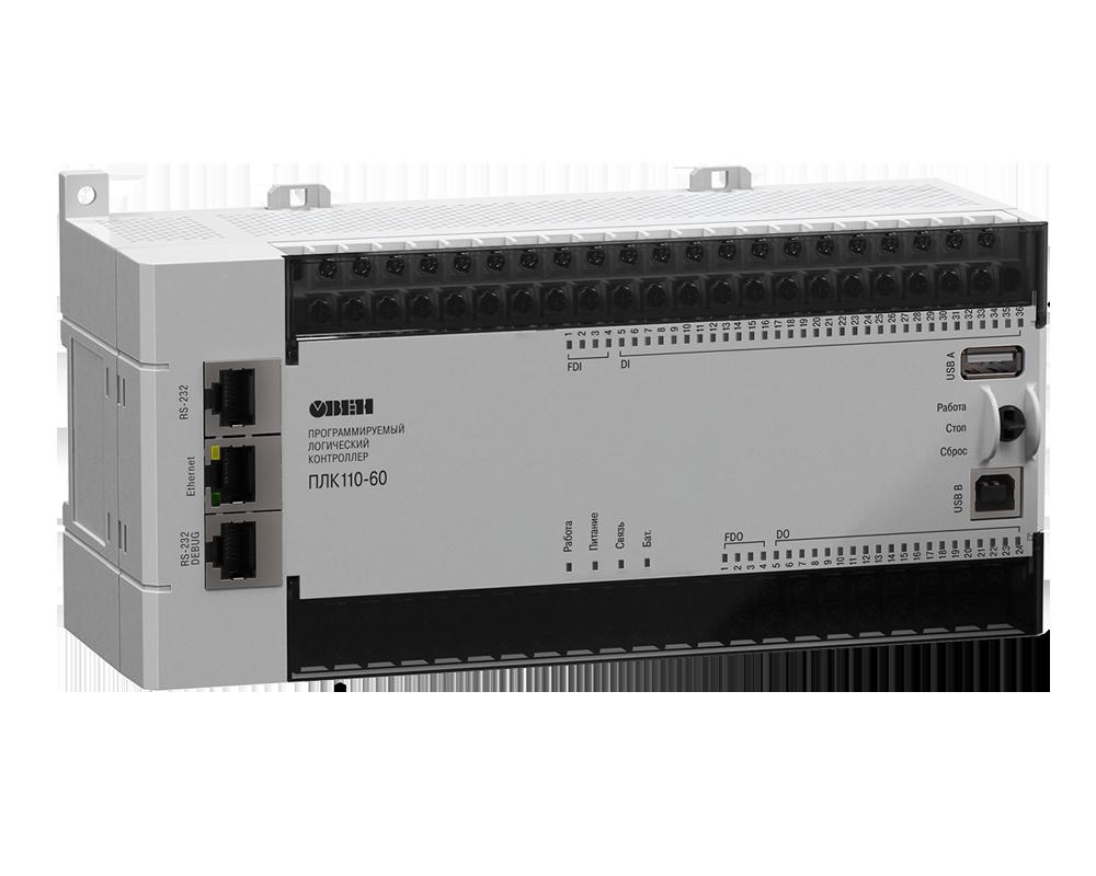 ПЛК110 [М02] контроллер для средних систем автоматизации с DI/DO (обновленный)