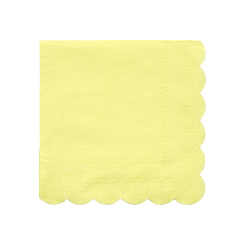 Салфетки желтые маленькие