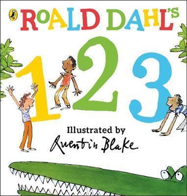Kitab Roald Dahl's 123: (Counting Board Book) | Roald Dahl
