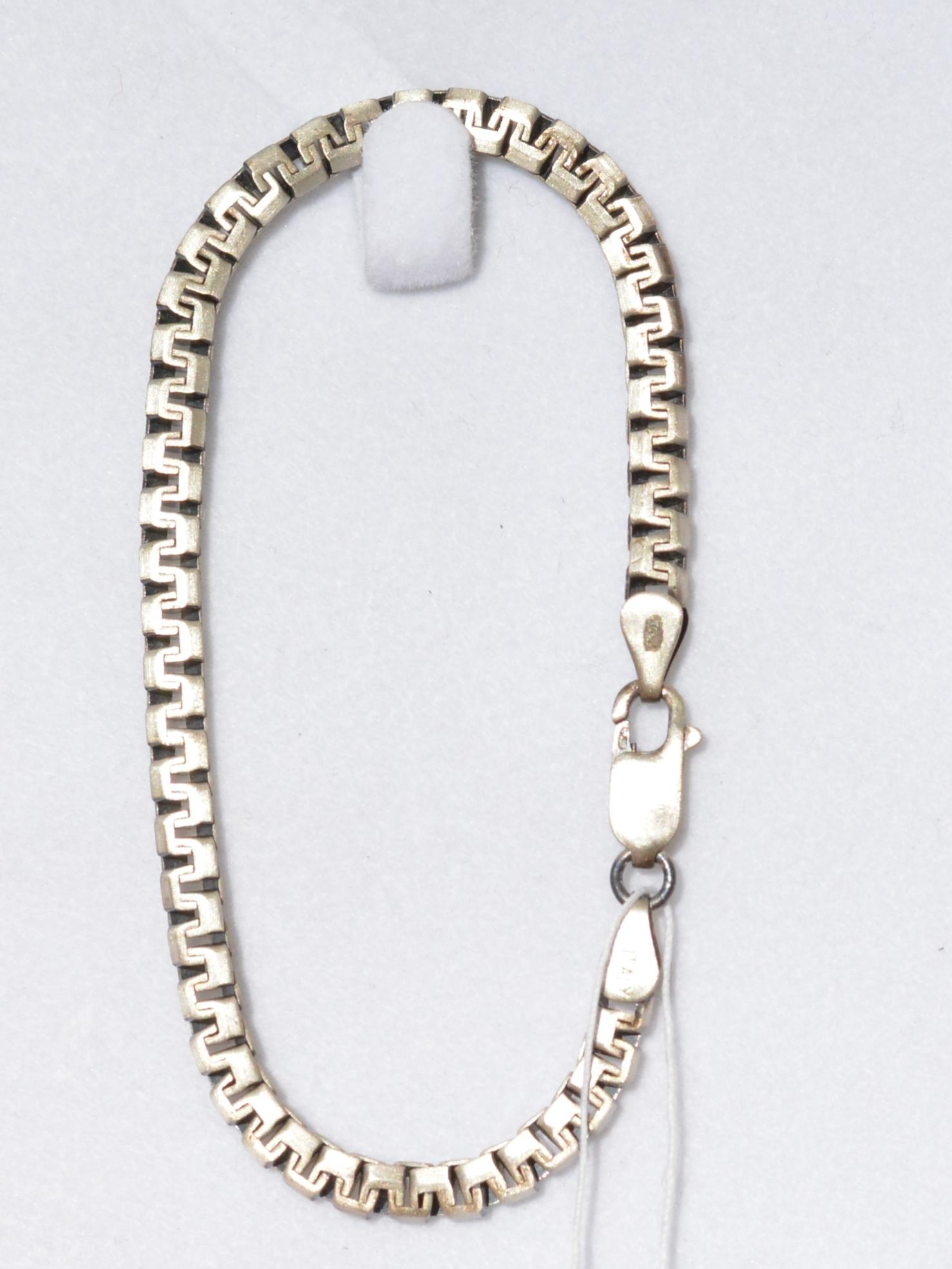 Греческая 2,5(серебряный браслет)