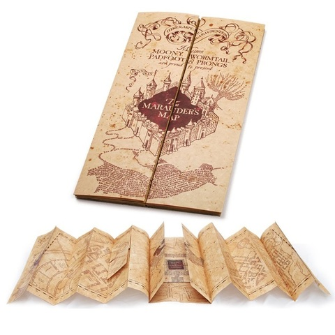 Гарри Поттер карта Мародеров