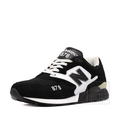 Кроссовки New Balance 878 Black White Mid