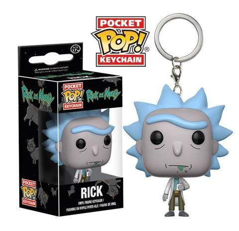 Брелок Рик - Рик и Морти || POP! Keychain Rick - Rick & Morty