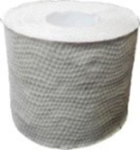 Бумага туалетная Альбатрос макулатурная серая с перфорацией и тиснением 200 отрывов