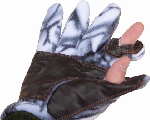 Перчатки охотника (белый лес)