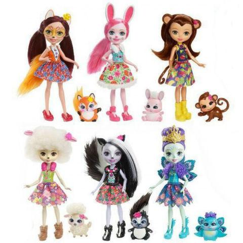 Набор из 6 кукол Энчантималс - Enchantimals, Mattel