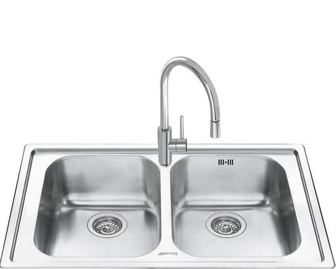 Кухонная мойка Smeg LM862-2