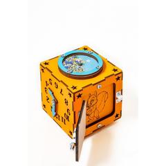 Easy Time Развивающий БизиКуб мини (оранжевый) (mo01)