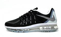 Кроссовки Мужские Nike Air Max 2015 Black White