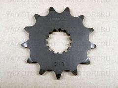 Звезда передняя (ведущая) Sunstar 3A113 JTF1565 для мотоцикла Kawasaki  13 зубьев