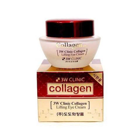 3W CLINIC Крем для век с коллагеном Collagen Lifting Eye Cream, 35 мл