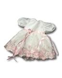 Платье из тафты - Белый. Одежда для кукол, пупсов и мягких игрушек.