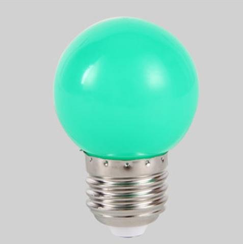Светодиодная лампа для гирлянды белт-лайт Е27 зеленая LED
