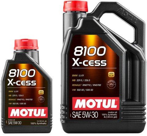 MOTUL 8100 X-cess 5W30