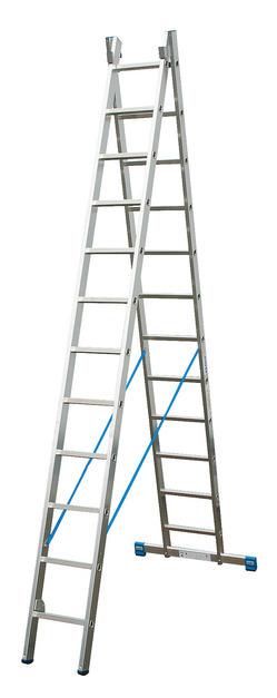STABILO Универс. лестница, их двух частей, 2 х 12 перекладин