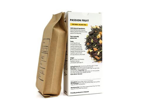 Вьетнамский черный фермерский чай Маракуйя, Sense of Asia, 100 гр.