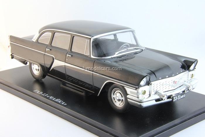 GAZ-13 Seagull black 1:24 Legendary Soviet cars Hachette #2