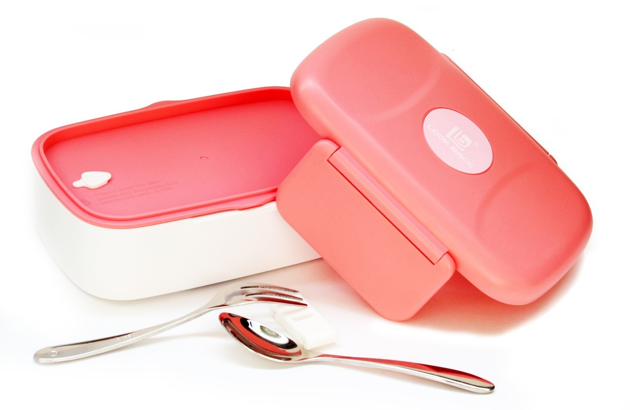 Ланч-бокс Magic lunch box розовый