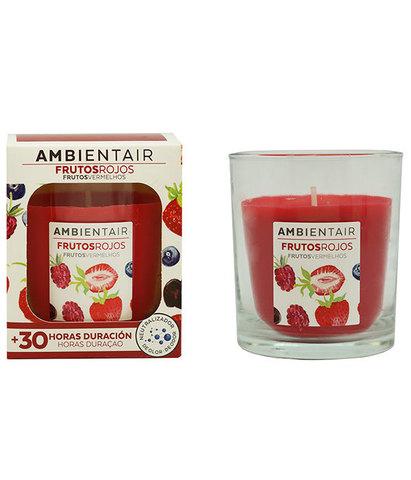 Свеча ароматическая Красные фрукты, Ambientair