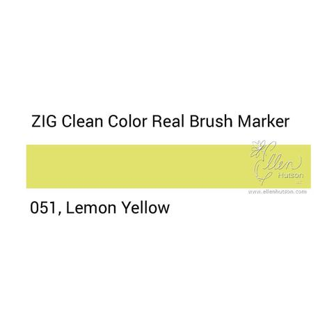 Маркер акварельный ZIG Clean Color Real Brush- штучно - 051