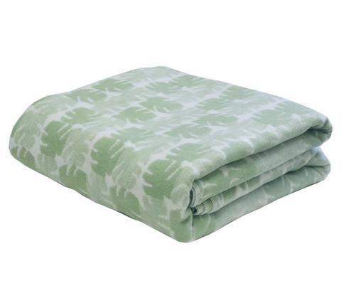 Одеяло байковое Премиум Пальма