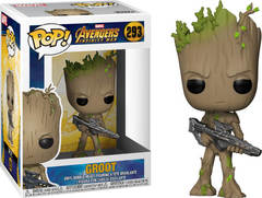 POP Marvel: Infinity War - Groot w/Blaster