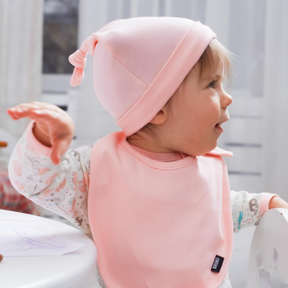 Шапочка «Soft pink»