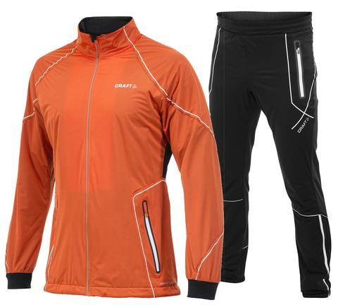 CRAFT HIGH FUNCTION мужской лыжный костюм оранжевый